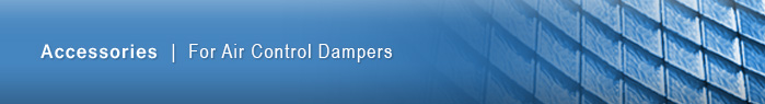 TAMCO accessories for air control dampers
